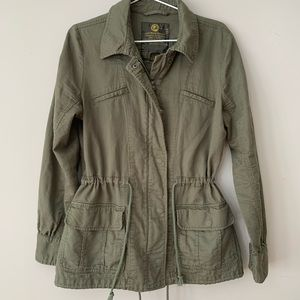 Lucky brand military cargo jacket